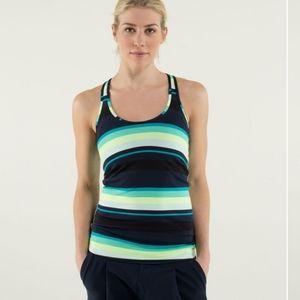 Lululemon Cool Racerback  Assorted Stripe Surge